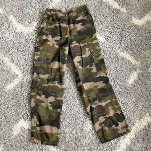 😎 Children's Place Camouflage Cargo pants Sz 8